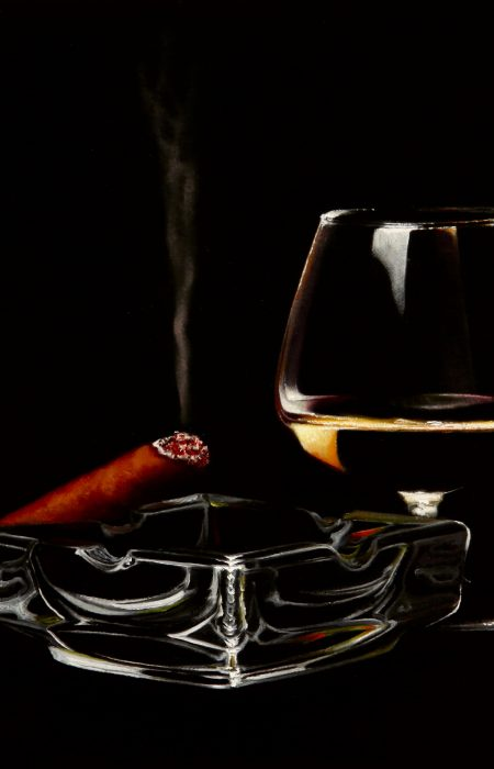 Guilty Pleasures No 4 by Damir May oil on canvas